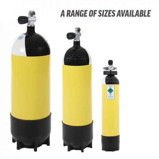 A range of FABER cylinders available