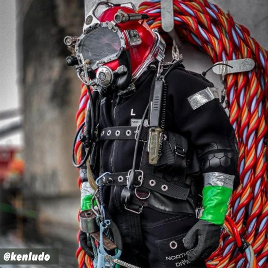Evolution 8 Hotwater Suit | Hot Water Saturation Diving Suit | Northern Diver