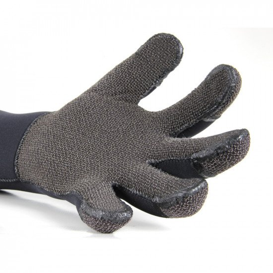 Manufactured from 5mm neoprene with Kevlar® reinforced palms and finger tips