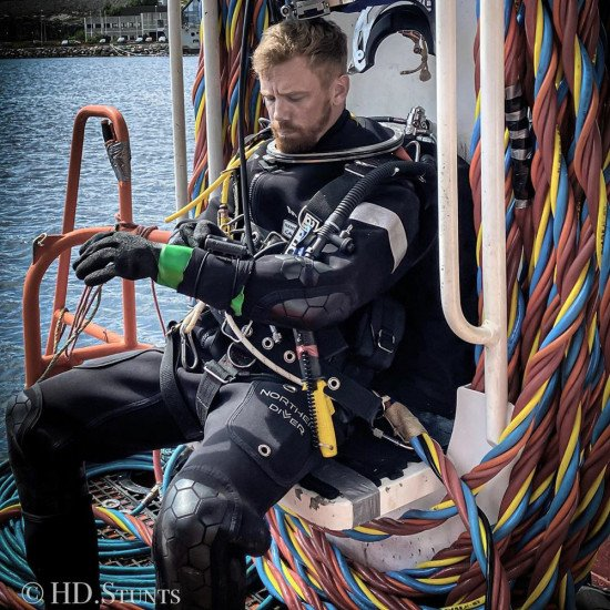 The Northern Diver Hotwater Suit has been developed over the past 20 years
