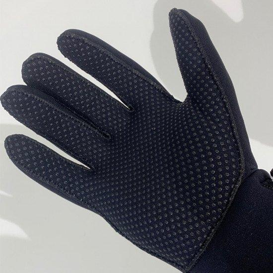 3mm Neoprene Gloves - palm of glove