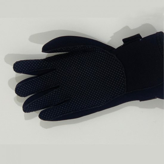 3mm Neoprene Gloves - palm of glove, including wrist strap
