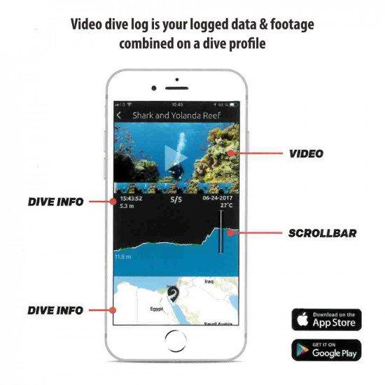 Paralenz Dive App - video dive log