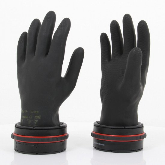 The V4 Dry Glove Ring System is lighter in weight, less bulky, streamlined and more comfortable than