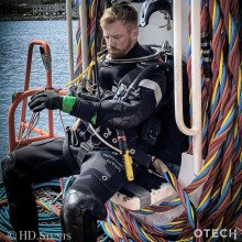 OTECH+HD - The Northern Diver Hotwater Suit has been developed over the past 20 years
