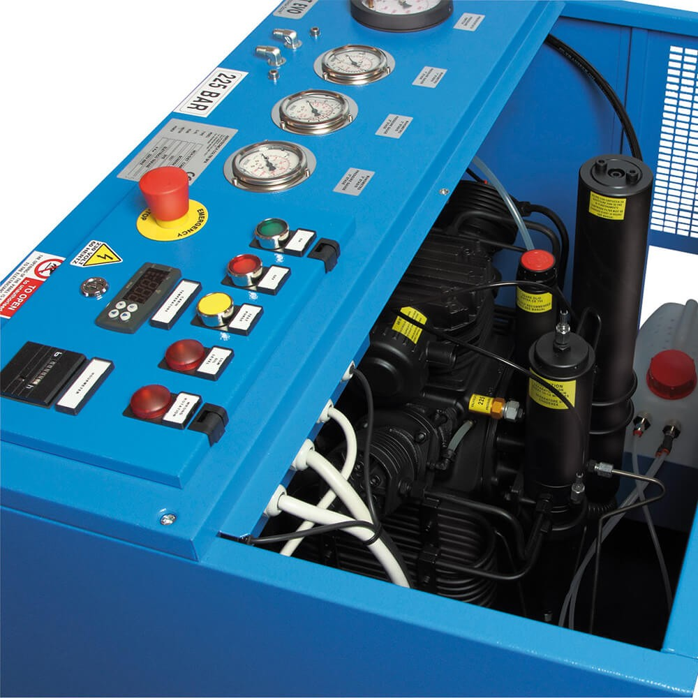 MCH 13/16/18 ET Compact EVO Compressor  | Northern Diver UK | Filling Station Compressors