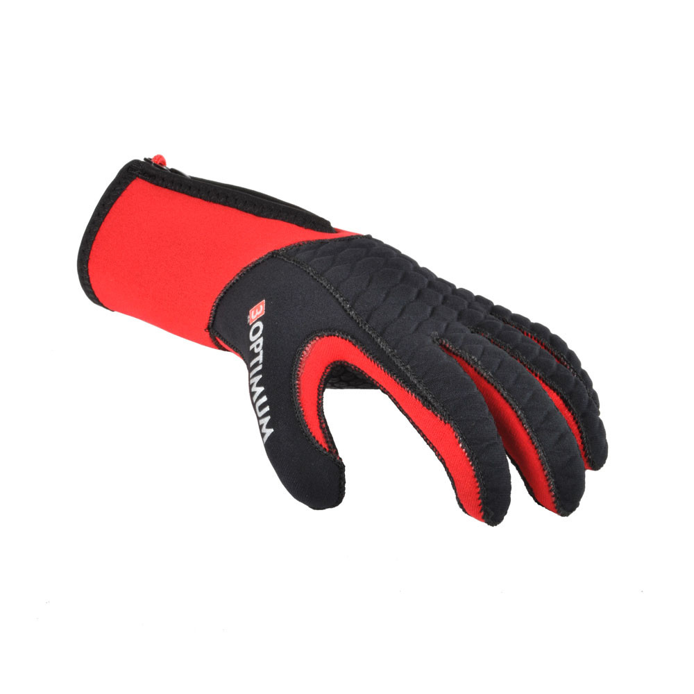 Red 3mm Optimum glove